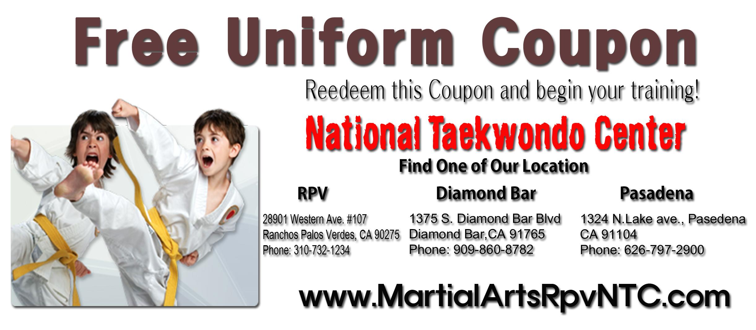 Free Uniform Coupon